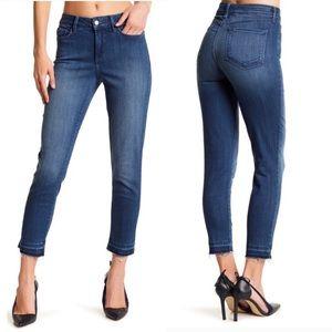 NYDJ Alina Ankle Raw Released Hem Jeans 4 GUC